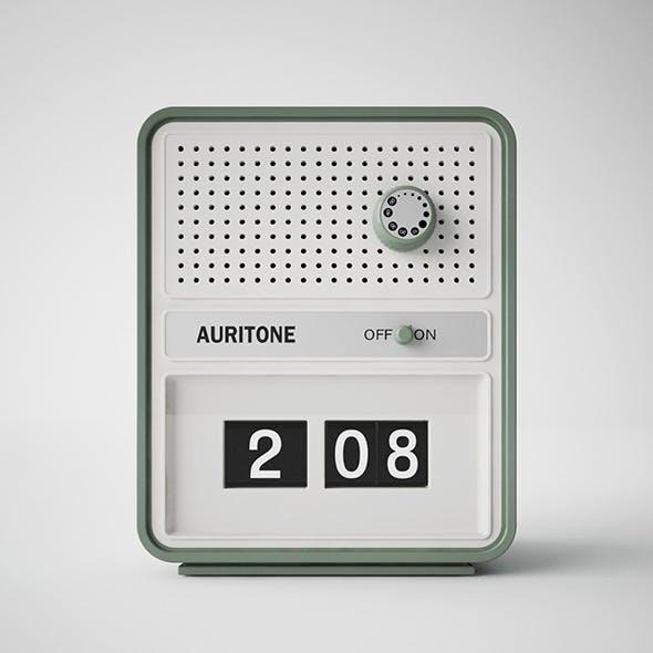 AURITONE VINTAGE RADIO c4d + vray