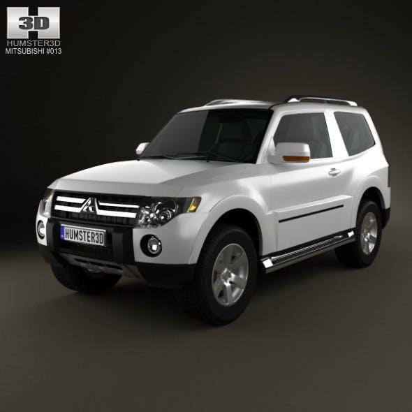 Mitsubishi Pajero 3door 2009 - 3DOcean Item for Sale