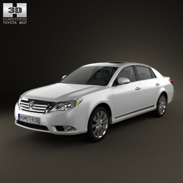 Toyota Avalon 2012 - 3DOcean Item for Sale