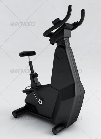 Spinning bike Movement - 3DOcean Item for Sale