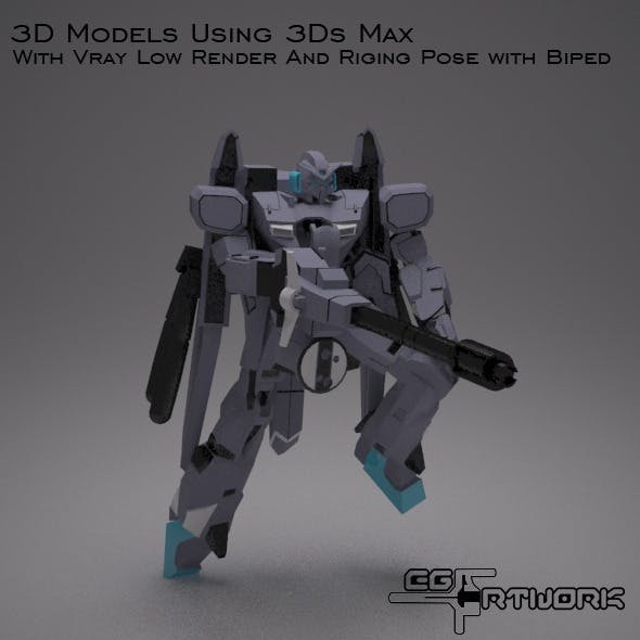 3D Zeta Plus Gundam - 3DOcean Item for Sale