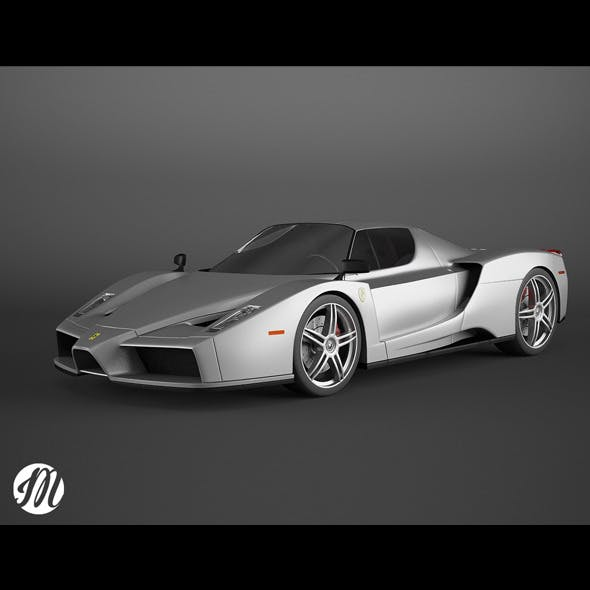 Ferrari Enzo - 3DOcean Item for Sale