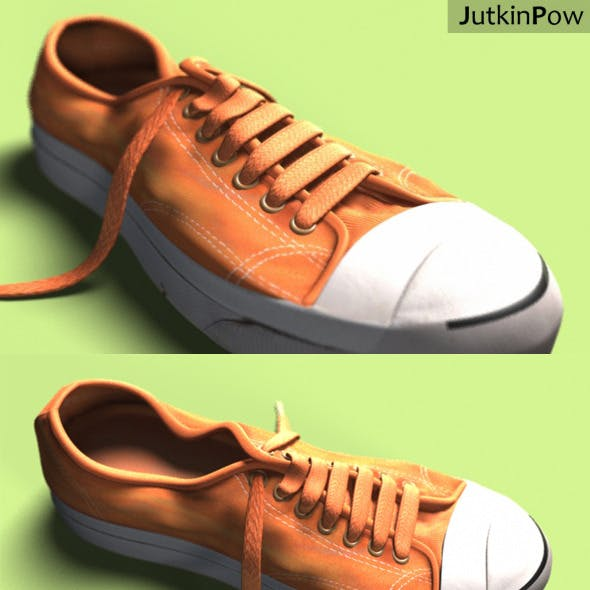 Photorealistic Used Sneaker