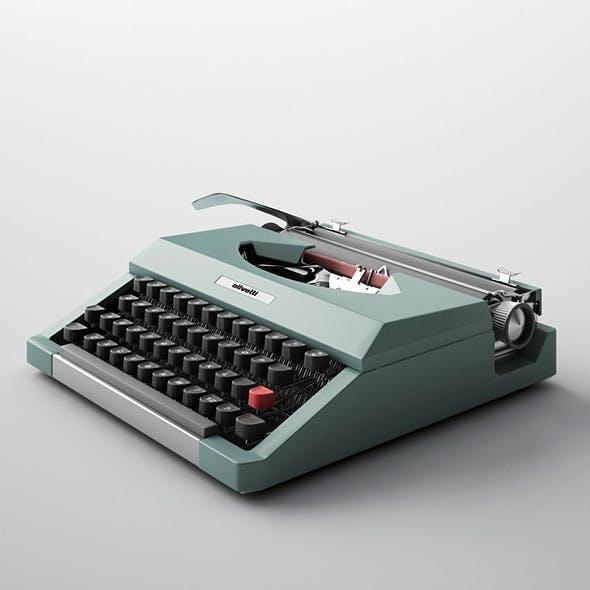 Lettera Olivetti Typewriter