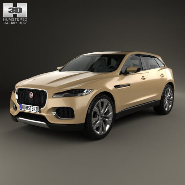 Jaguar C-X17 2013 - 3DOcean Item for Sale