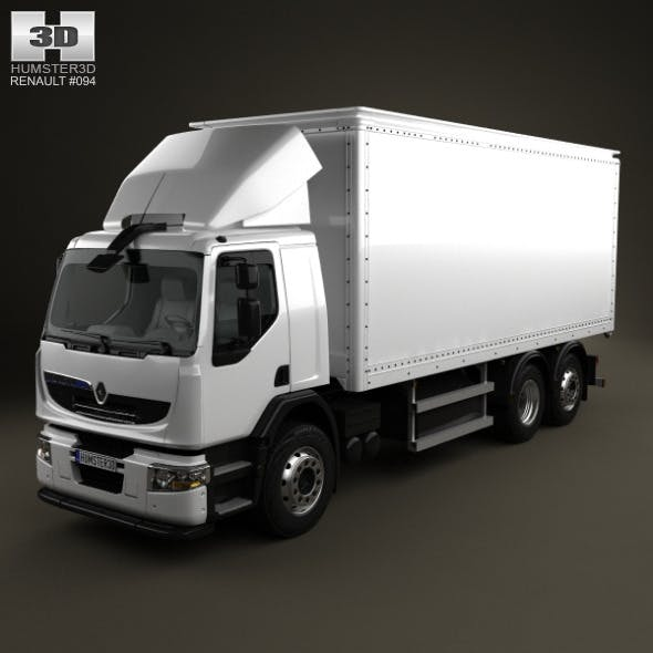 Renault Premium Distribution Hybrys Box Truck 2011