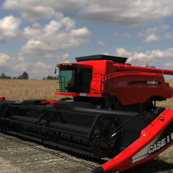 Combine Harvester | Case IH