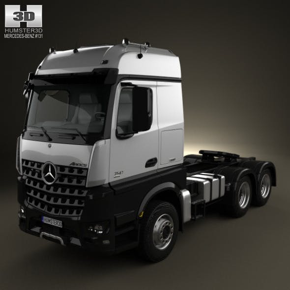 Mercedes-Benz Arocs Tractor Truck 2013 - 3DOcean Item for Sale