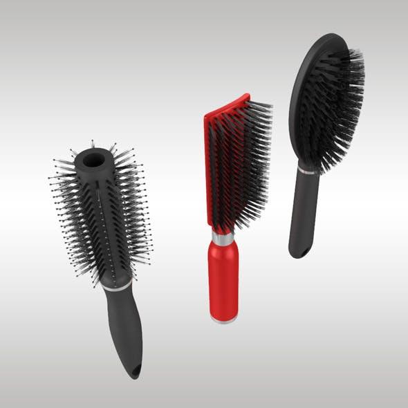 Hairbrush Set - 3DOcean Item for Sale