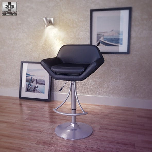 Valencia Adjustable Barstool - Hillsdale Furniture