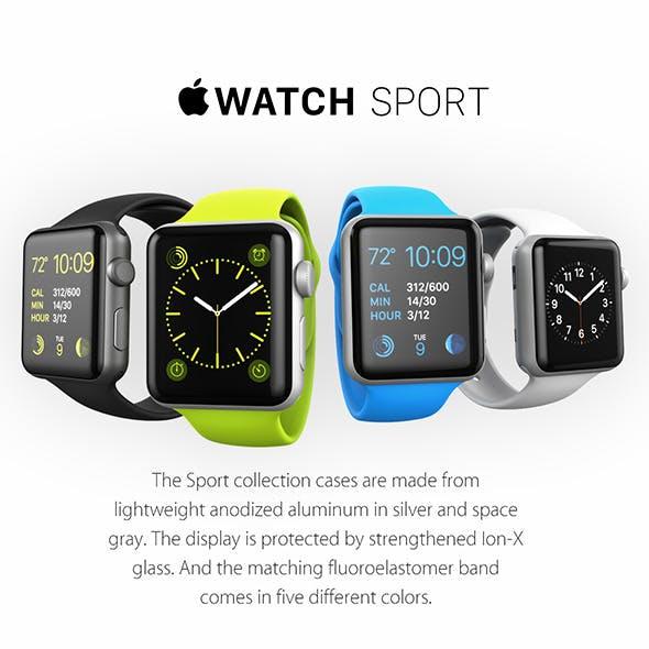 Apple Watch - 3DOcean Item for Sale