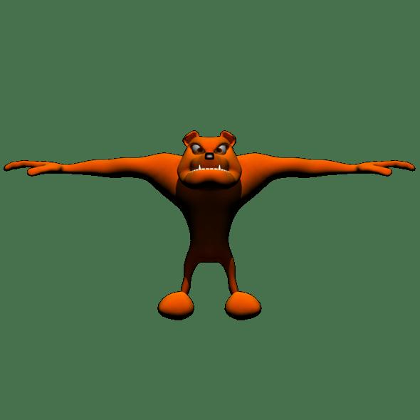 Bull Dog - 3DOcean Item for Sale