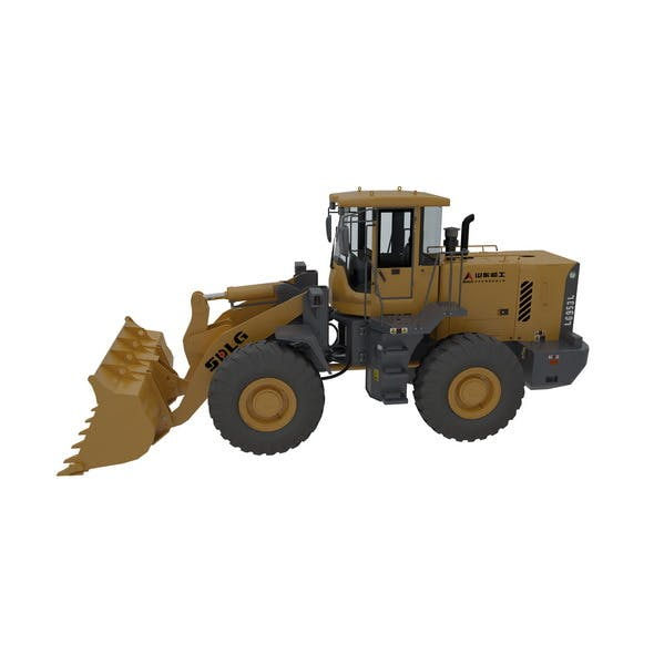 Bulldozers Model and Rigging - 3DOcean Item for Sale