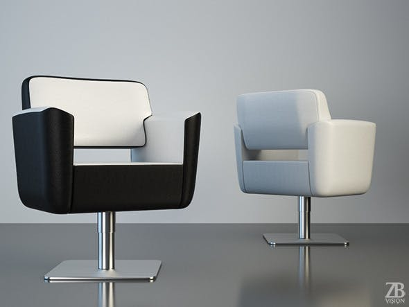 Pietranera Zone Armchair - 3DOcean Item for Sale