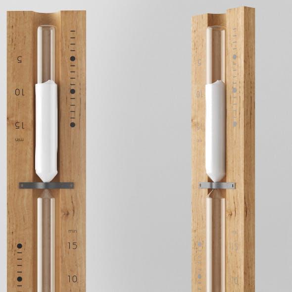 Sauna Sandtimer Hourglass