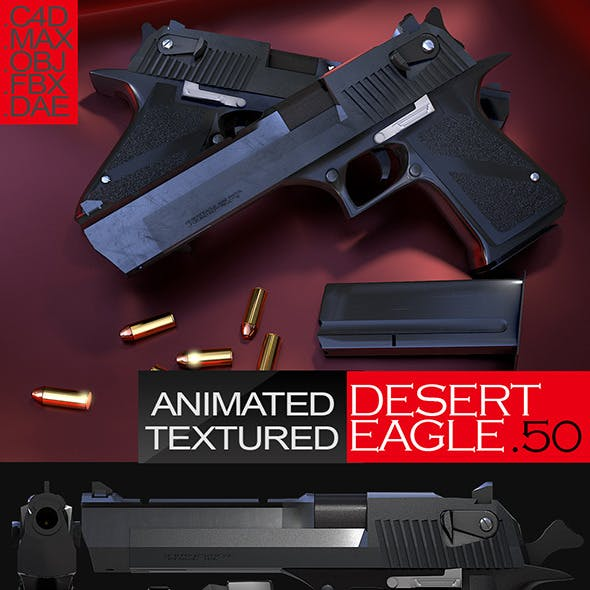 Animated Desert Eagle
