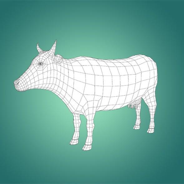 Base Mesh Cow