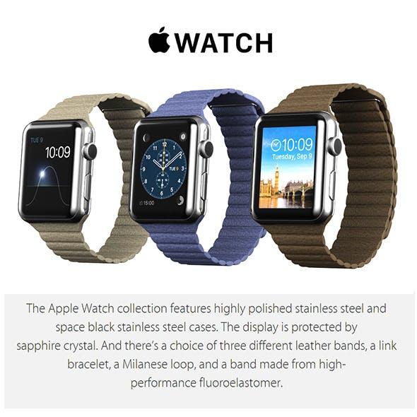 Apple Watch 42 mm - 3DOcean Item for Sale