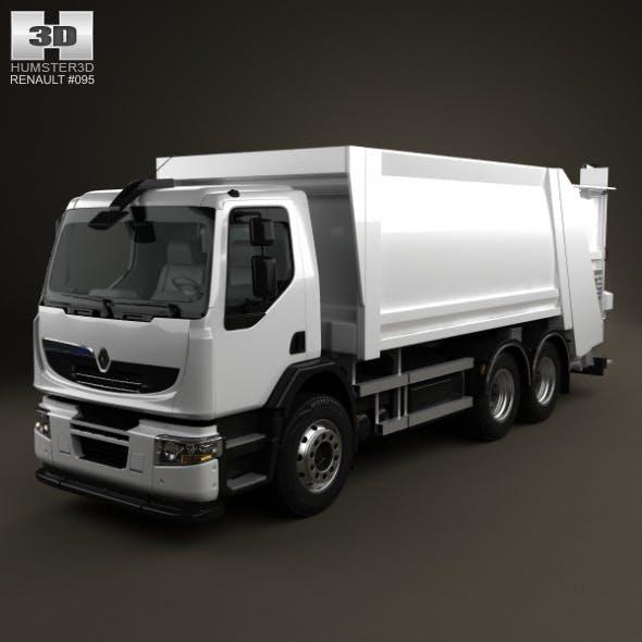 Renault Premium Distribution Hybrys Garbage Truck
