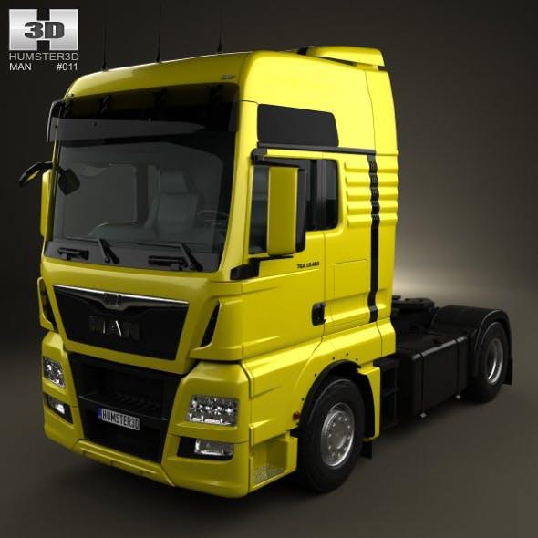 MAN TGX Tractor Truck 2012 - 3DOcean Item for Sale