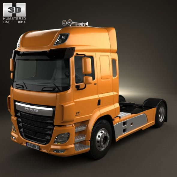 DAF CF Tractor Truck 2013 - 3DOcean Item for Sale