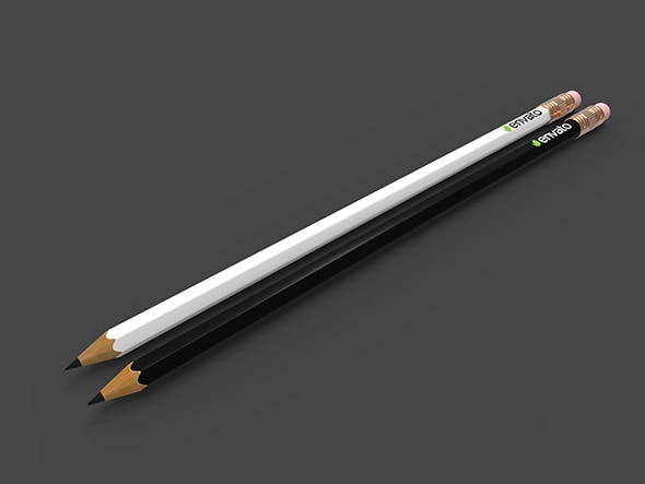 Detailed Pencil - 3DOcean Item for Sale