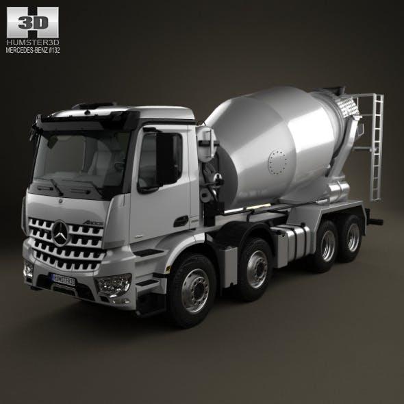 Mercedes-Benz Arocs Mixer Truck 2013 - 3DOcean Item for Sale