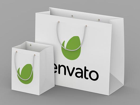 Paper Shopping Bag - 3DOcean Item for Sale