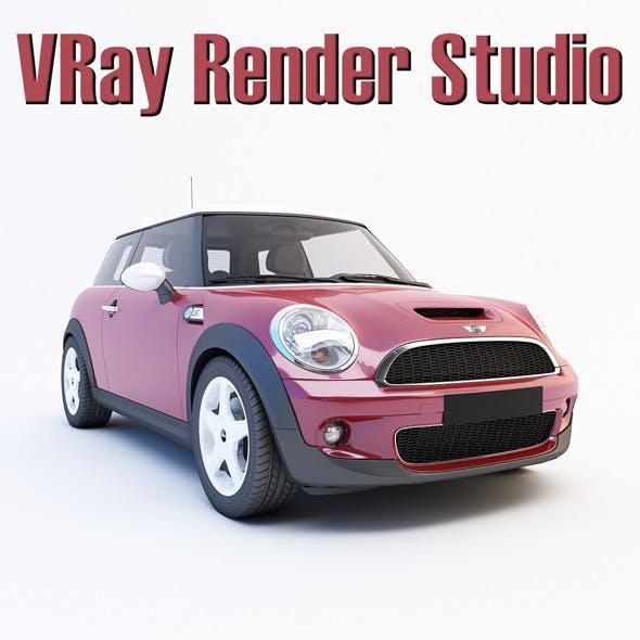 VRay Render Studio (white) - 3DOcean Item for Sale