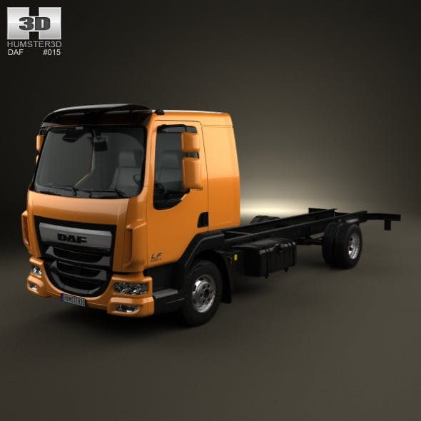 DAF LF Chassis Truck 2013