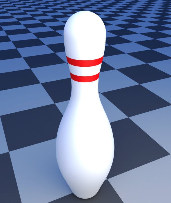 Bowling Pin - 3DOcean Item for Sale