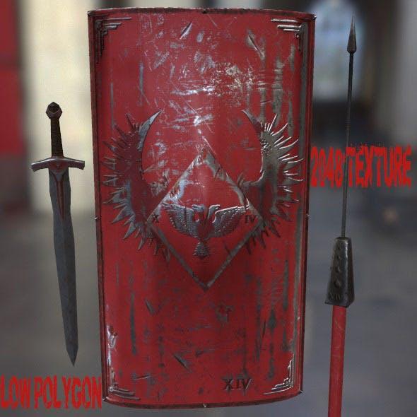 Rome_Worrior_Set - 3DOcean Item for Sale