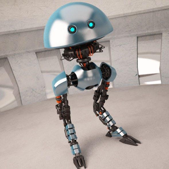 Robot JP08 - 3DOcean Item for Sale
