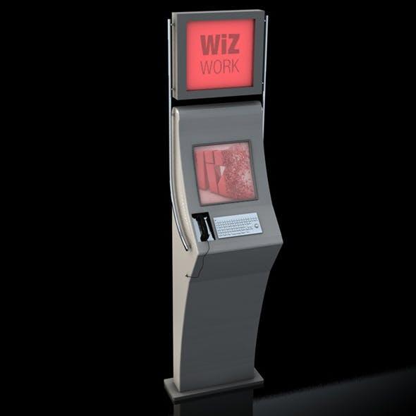 Kiosk - 3DOcean Item for Sale