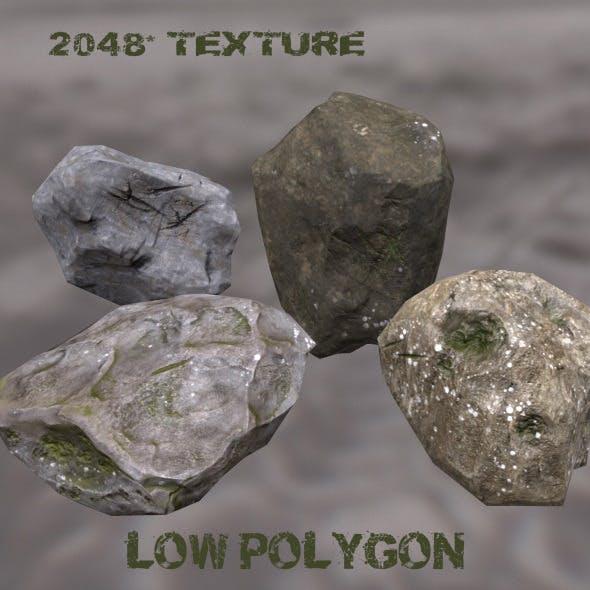 Rock_Set_11 - 3DOcean Item for Sale