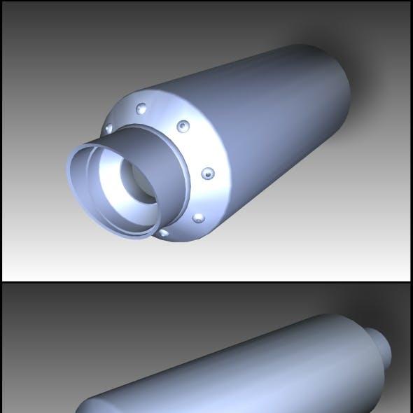 Tuning Exhaust Pipe (Borla)