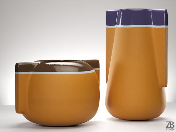 Moai Vase - 3DOcean Item for Sale