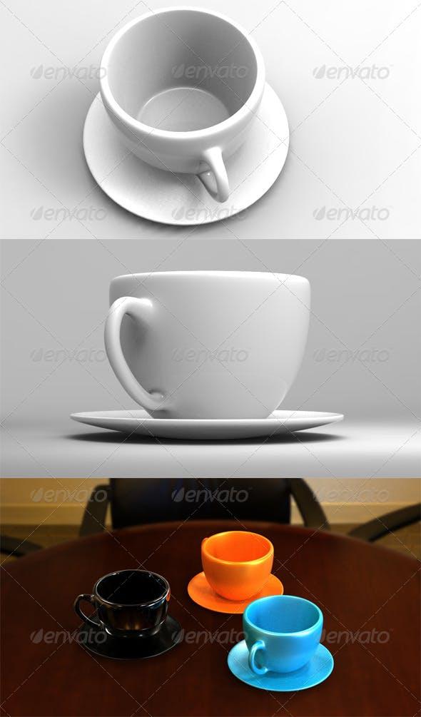 CoffeeMug - 3DOcean Item for Sale