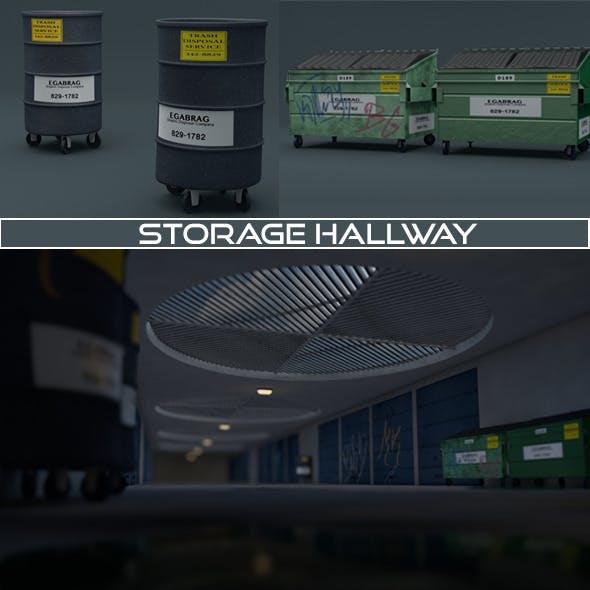 Storage Hallway - 3DOcean Item for Sale