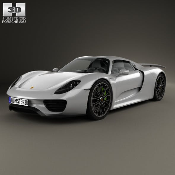 Porsche 918 Spyder 2015 - 3DOcean Item for Sale