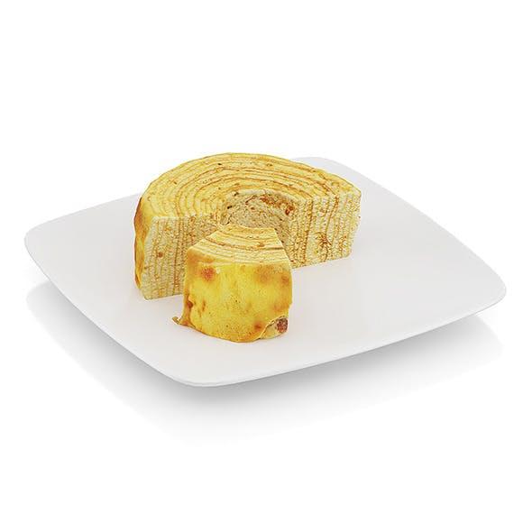 Half-eaten tree cake - 3DOcean Item for Sale
