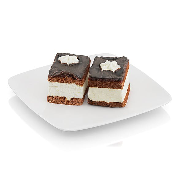Cream pie with chocolate icing - 3DOcean Item for Sale