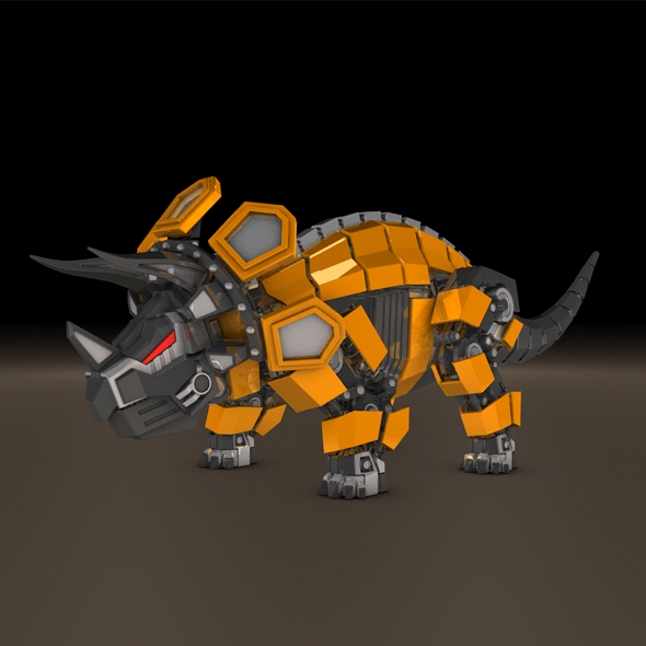 Triceratops robot