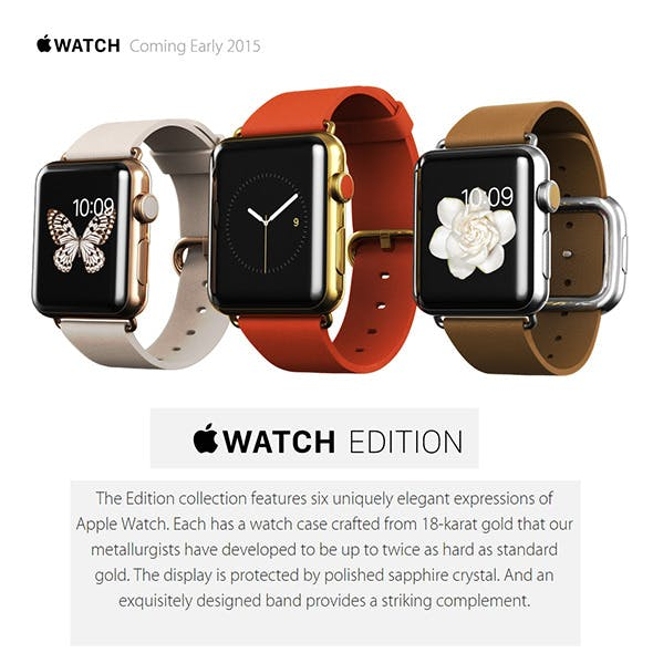 Apple Watch Edition - 3DOcean Item for Sale
