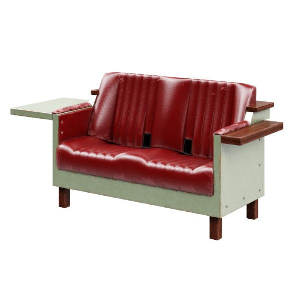 Sofa chairs from BMW. Fridgecouch