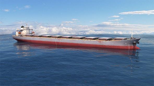 Ship - Capesize Aqua Fortune - 3DOcean Item for Sale