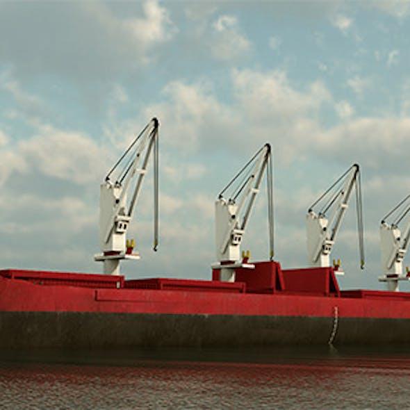 Cargo Ship Panamax