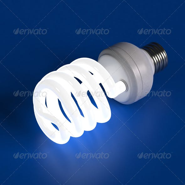 Compact Florescent Light Bulb