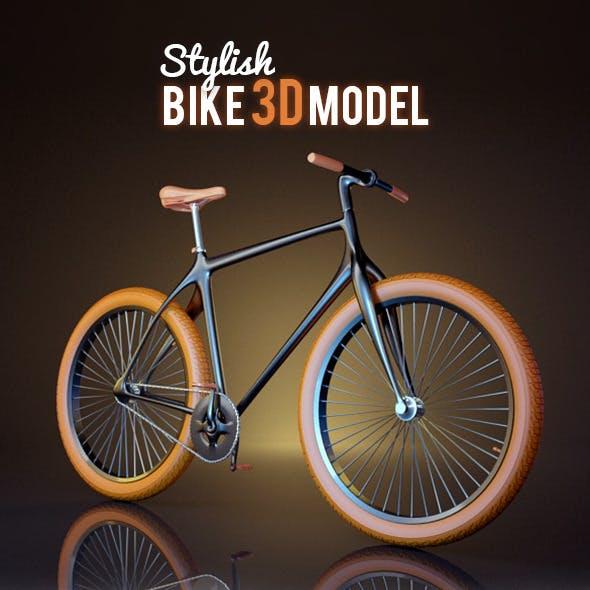 Stylish Bike 3D Model