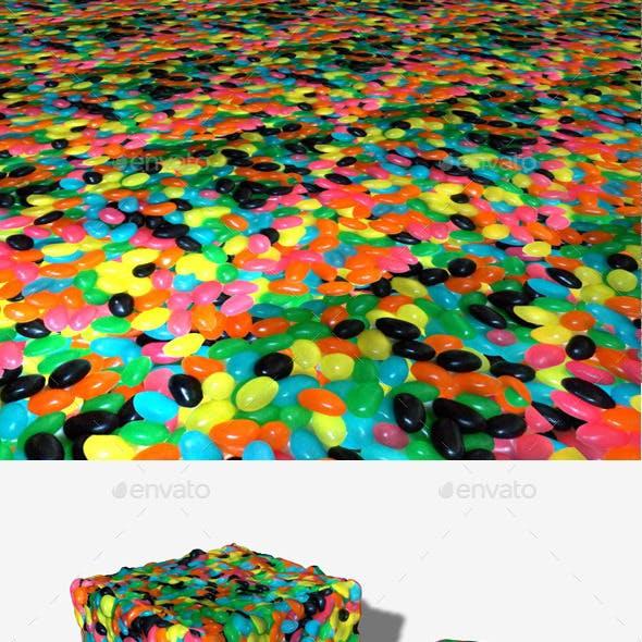 Seamless Jellybean Texture